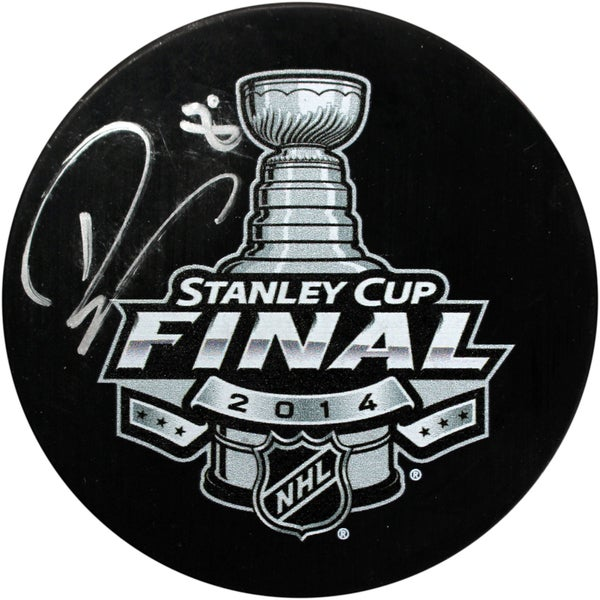 Drew Doughty Signed 2014 Stanley Cup Finals Puck