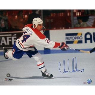 Chris Chelios Canadians Slap Shot Horizontal 16x20 Photo 17298770