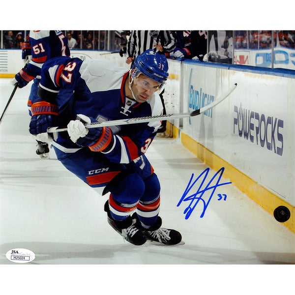 Brian Strait Signed 8x10 Photo (JSA Auth)