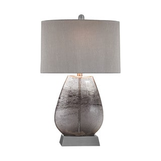 Elk Lighting Haarlem 1-light Storm Grey and Pewter Table Lamp