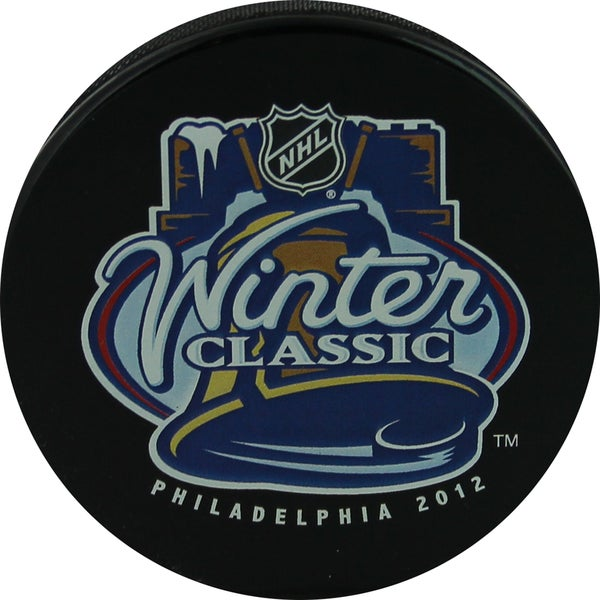2012 Winter Classic Puck Uns.