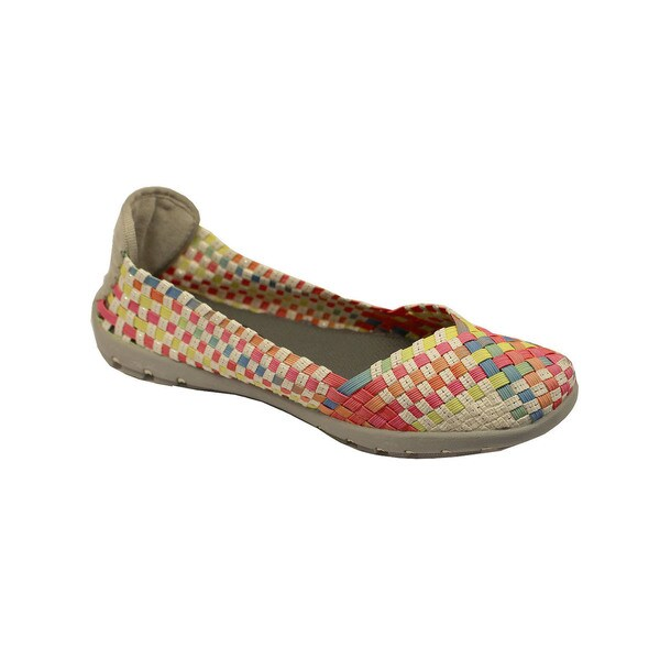 Women's Multi-color Slip-on Flats