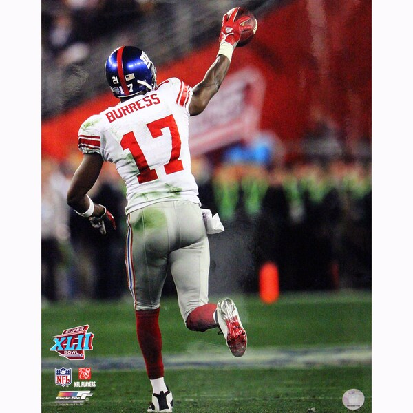 Plaxico Burress One Handed Catch vs Patriots 16x20 Photo uns