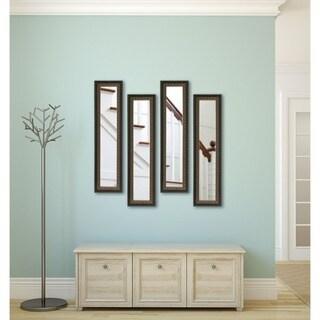American Made Rayne Traditional Cameo Bronze Mirror Panel