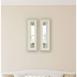 American Made Rayne French Victorian White Mirror Panel