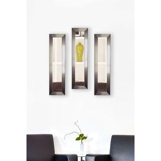 American Made Rayne Silver Petite Mirror Panel
