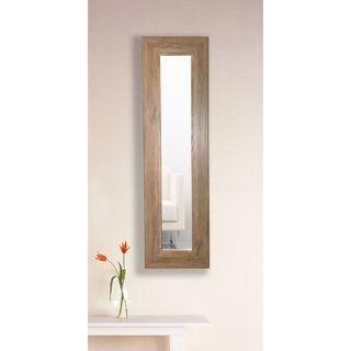 American Made Rayne Brown Barnwood Mirror Panel