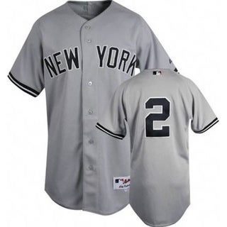 Derek Jeter Authentic New York Yankees Road Jersey