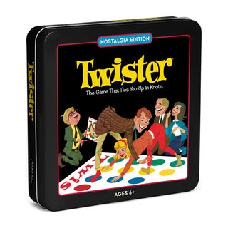 Twister Board Game Nostalgia Edition Game Tin