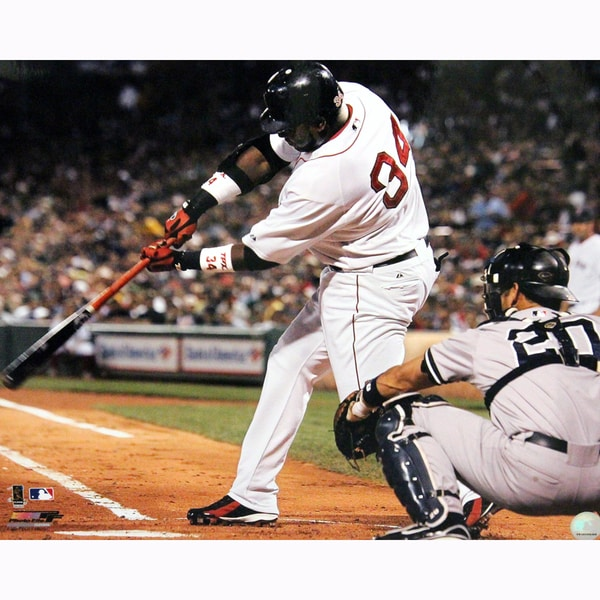 David Ortiz Swing vs Yankees 16X20