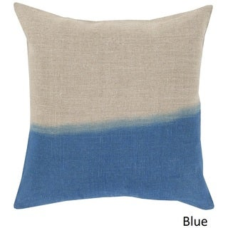 Decorative McDaniels 22-inch Poly or Down Filled Pillow