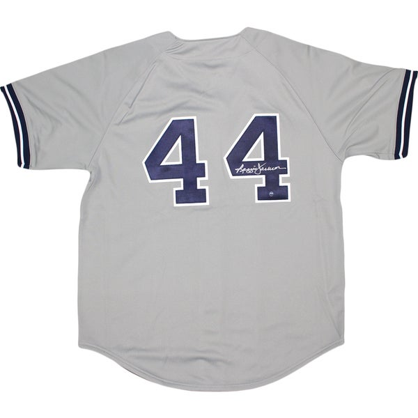 Reggie Jackson Signed 1978 Authentic Jersey New York Yankees