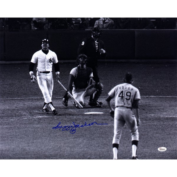 Reggie Jackson Signed 16x20 Photo (JSA)