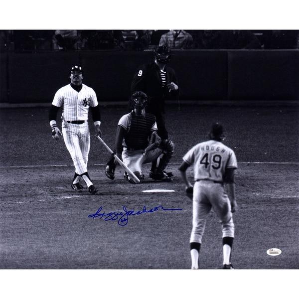 Reggie Jackson Signed 16x20 Photo (JSA)