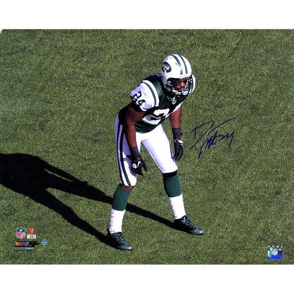 Darrelle Revis Signed Jets Stance 16x20 Photo 17301625