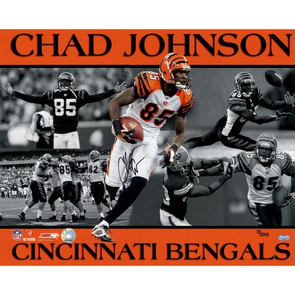 Chad Johnson 16x20 Collage