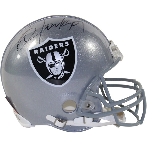 Bo Jackson Signed Oakland Raiders Authentic Full Size Helmet