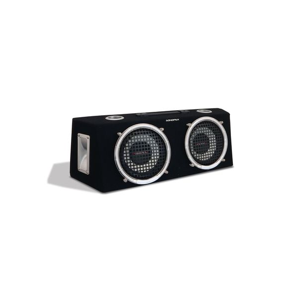 Sondpex 8-inch 2-Way Speaker Box w. Neon Ring (Refurbished)