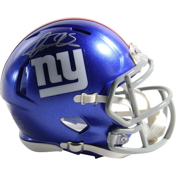 Andre Williams Signed New York Giants Mini Speed Helmet