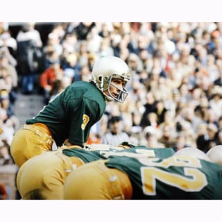 Joe Montana Notre Dame At Line Of Scrimmage 16x20 Photo