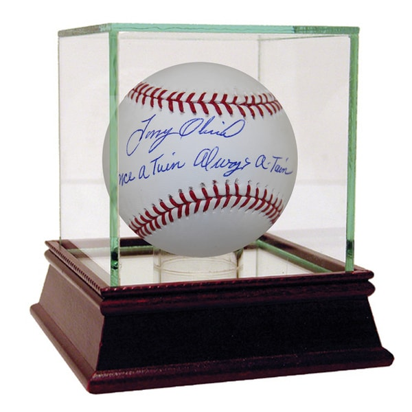 "Tony Oliva Autographed Baseball w/ ""Once a Twin, Always a Twin"" Inscription"