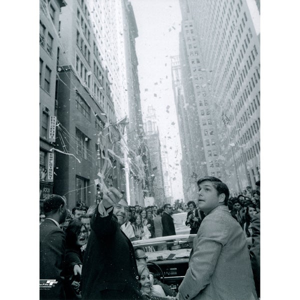 Tom Seaver 1969 Ticker Tape Parade 8X10