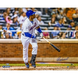 Yoenis Cespedes Signed Watching Ball Leave Park 16x20 Photo