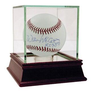Willie McCovey Signed Baseball w/ Roy 59 Insc.