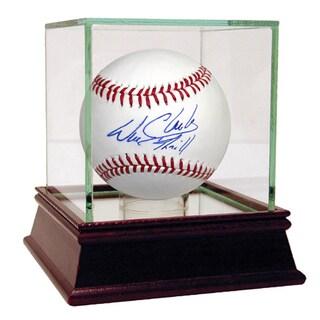 """Will Clark Signed MLB Baseball w/""""Thrill"""" Insc."""