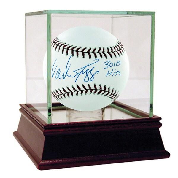 """Wade Boggs MLB Baseball w/ """"3010 Hits"""" (MLB Auth) 17302557"""