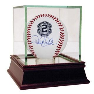Derek Jeter Signed Retirement Logo Rawlings Baseball (MLB Auth)