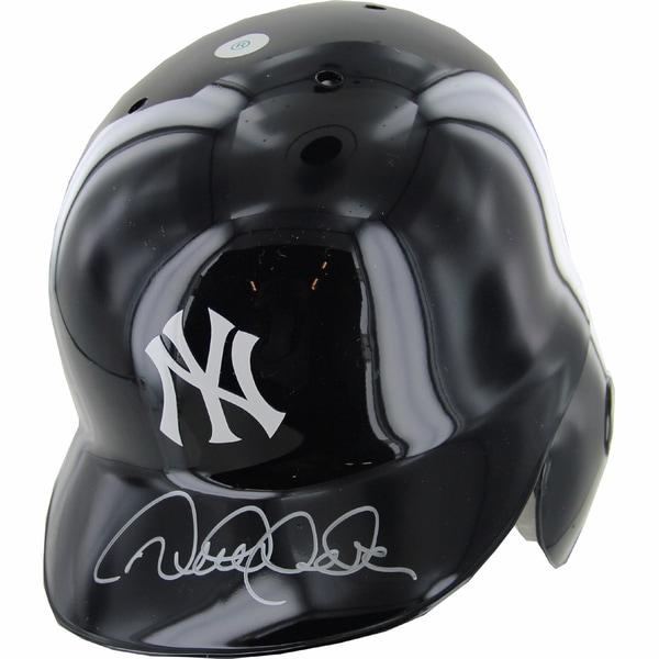 Derek Jeter Signed Left Ear Flap Batting Helmet (MLB Auth)
