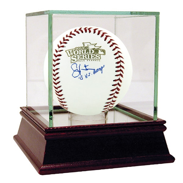 "Shane Victorino Signed 2013 World Series Baseball w/ ""13 WS Champs"" insc 17302663"