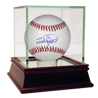 Sergio Romo Signed MLB Baseball