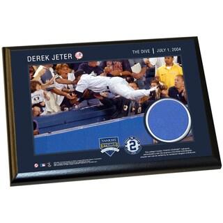 Derek Jeter Moments: The Dive 4x6 Wall Panel Plaque