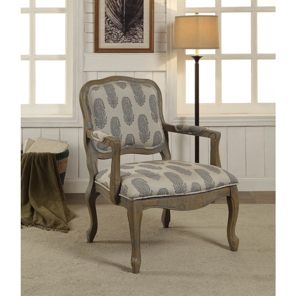 Somette Gray Accent Armchair
