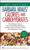 Calories and Carbohydrates (Paperback)