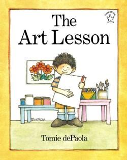 The Art Lesson (Paperback)