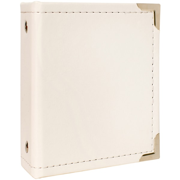 We R Fujifilm Instax Ring Album 4.25inX3.8in White