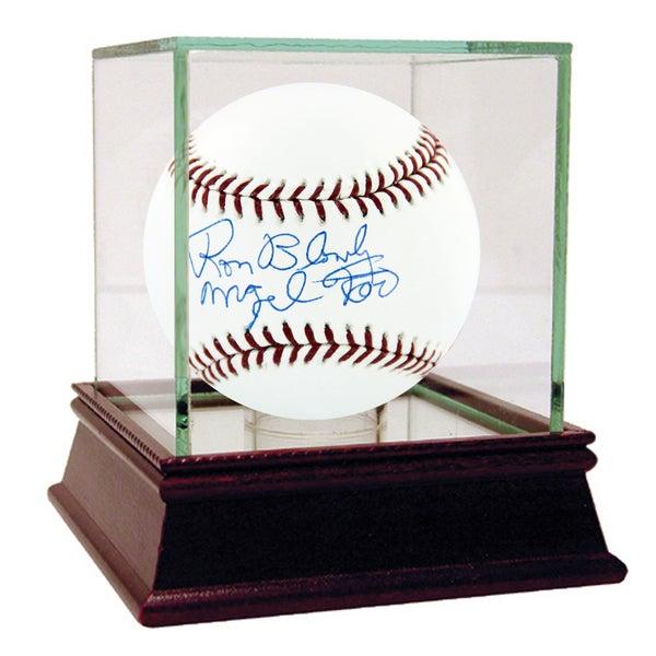 Ron Blomberg Signed MLB Baseball w/ Mazel Tov insc