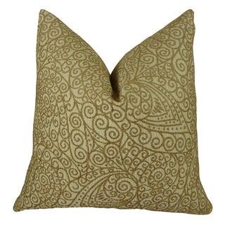 Plutus Birch Handmade Double-sided Throw Pillow