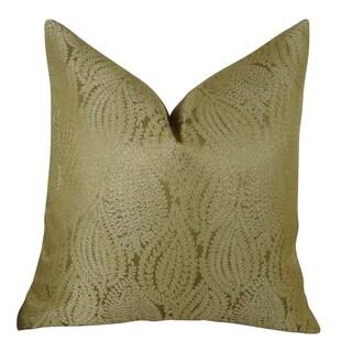 Plutus Leaf Pod Handmade Double-sided Throw Pillow