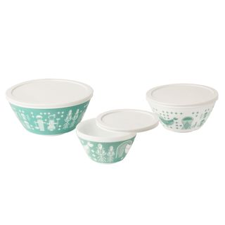 Pyrex Vintage Charm Rise-n-Shine 6-piece Mixing Bowl Set