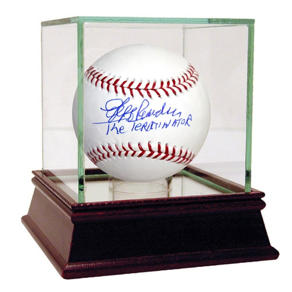 "Jeff Reardon Signed MLB Baseball w/ ""The Terminator"" Insc. (Tristar Auth)"
