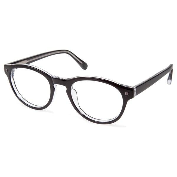 Cynthia Rowley Eyewear CR5009 No. 39 Black Round Plastic Eyeglasses