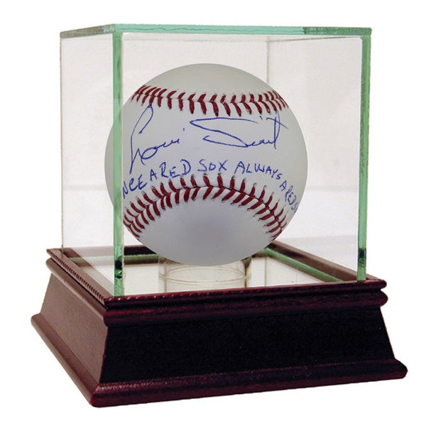 "Luis Tiant Autographed Baseball w/ ""Once a Red Sox, Always a Red Sox"" Inscription"