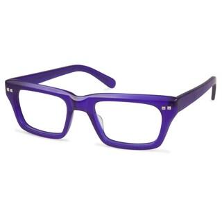Cynthia Rowley Eyewear CR6016 No. 16 Indigo Round Plastic Eyeglasses