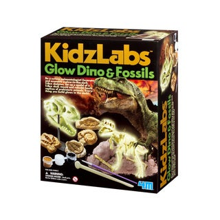 4M KidzLabs Glow Dino and Fossils Science Kit