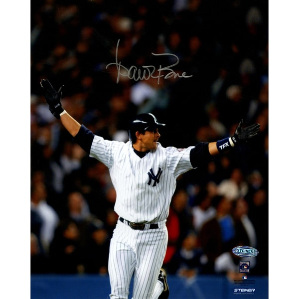 Aaron Boone 2003 ALCS Game 7 Home Run Celebration Vertical 8x10 Photo