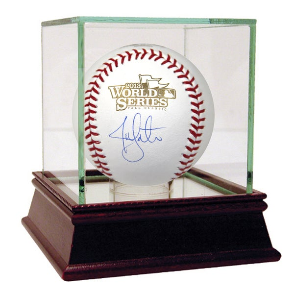 Jon Lester Signed 2013 World Series Baseball